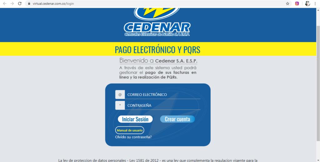 Factura Cedenar Pago en Linea PSE
